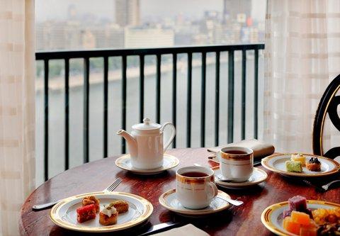فندق ماريوت القاهرة و كازينو عمر الخيام - Executive Lounge Balcony