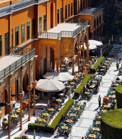 فندق ماريوت القاهرة و كازينو عمر الخيام - Garden Promenade Cafe
