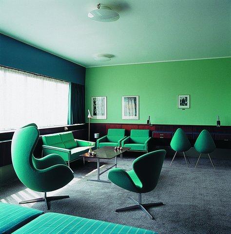 Radisson Blu Royal Hotel Copenhagen - Room 606  Arne Jacobsen suite