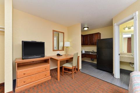 Americas Best Value Inn Medical Center Lubbock - Kitchenette Amenities