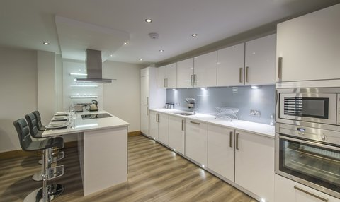 West End Apartments - Standard of Fitted Kitchen