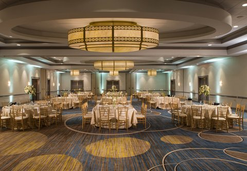 Baltimore Marriott Inner Harbor at Camden Yards - Grand Ballroom - Banquet Setup