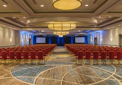 Baltimore Marriott Inner Harbor at Camden Yards - Grand Ballroom - Theater Setup