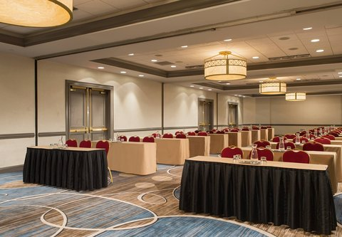 Baltimore Marriott Inner Harbor at Camden Yards - University Ballroom - Classroom Setup