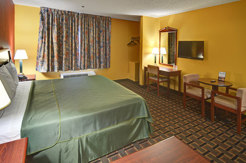 Americas Best Value Inn and Suites Longview - One King Bed Guest Room