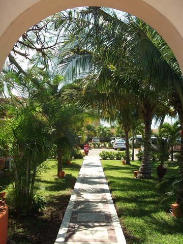 Secrets Aura Cozumel - All Inclusive - Entrance to the gardens