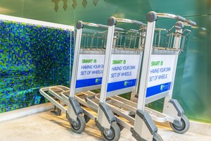 Luggage Trolleys for guest convenience