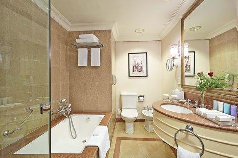 Conrad Cairo - King Junior Suite Bathroom