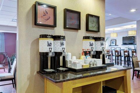 Hampton Inn St Louis-Columbia - Welcome Coffee