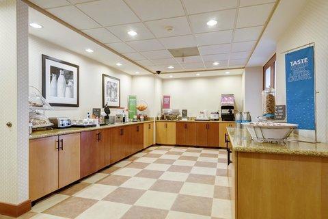 Hampton Inn St Louis-Columbia - Breakfast Area
