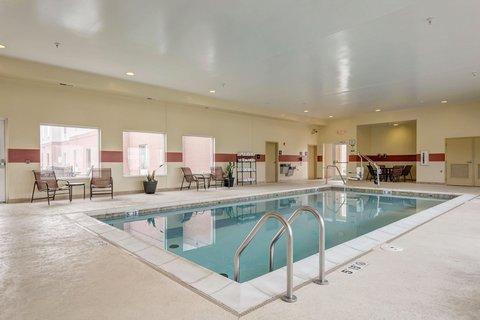 Hampton Inn St Louis-Columbia - Indoor Pool