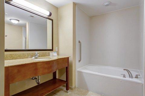 Hampton Inn St Louis-Columbia - Guest Room Bathroom