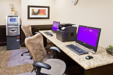 Crowne Plaza ANCHORAGE-MIDTOWN - Check email at the Business Center