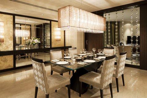فندق الفيصلية - South Wing Royal Diamond Suite Dinning