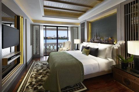 Anantara Bangkok Riverside Resort and Spa - Two Bedroom Chao Phraya River Suite Master Bedroom
