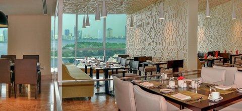Copthorne Sharjah - Lagoon Restaurant View