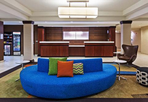 Fairfield Inn and Suites by Marriott Austin Northwest/Domain - Front Desk