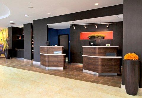 Courtyard by Marriott Rockaway Mount Arlington - Welcome Pedestals