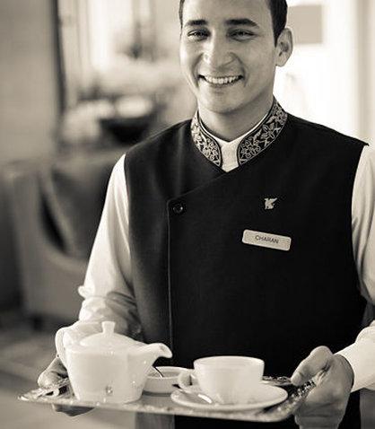 JW Marriott Mussoorie Walnut Grove Resort & Spa - Tea service
