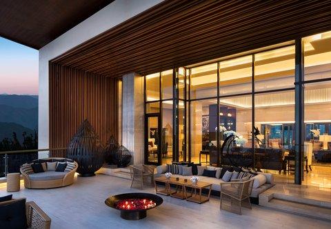JW Marriott Mussoorie Walnut Grove Resort & Spa - Perch Tea Lounge