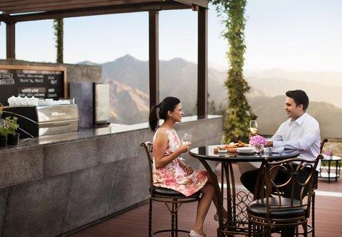 JW Marriott Mussoorie Walnut Grove Resort & Spa - Wisteria Deck - Dining Area
