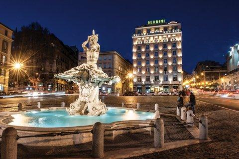 Hotel Bernini Bristol - Small Luxury Hotels of The World - Hotel Exterior