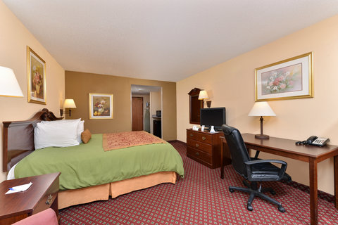 BEST WESTERN Garden City Inn - One King Bed Accessible Guest Room