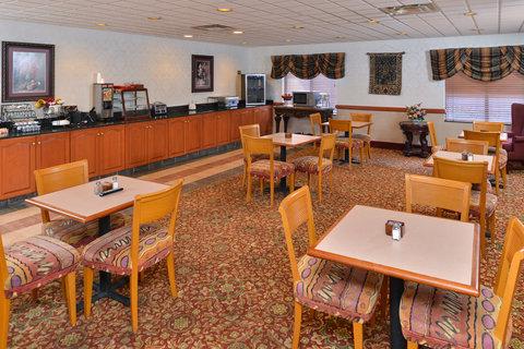 BEST WESTERN Garden City Inn - Breakfast Area