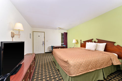 Americas Best Value Inn - One King Bed Guest Room