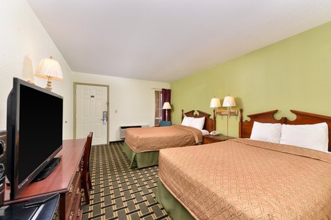 Americas Best Value Inn - Two Double Bed Guest Room