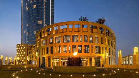 Kempinski Burj Rafal Hotel - Ballroom Entrance