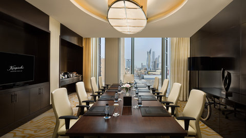 Kempinski Burj Rafal Hotel - Meeting Room