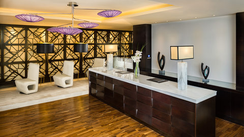 Kempinski Burj Rafal Hotel - Business Centre Reception