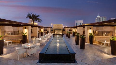 Kempinski Burj Rafal Hotel - Le Bijou Terrace