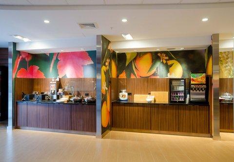 Fairfield Inn & Suites Fayetteville North - Complimentary Hot Breakfast