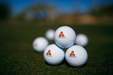 Boulders Resort & Golden Door Spa - Golf Balls