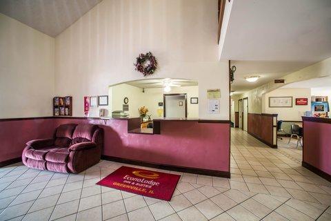 Econo Lodge Inn & Suites - ILLobby
