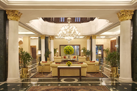 The Oberoi Grand - Lobby view