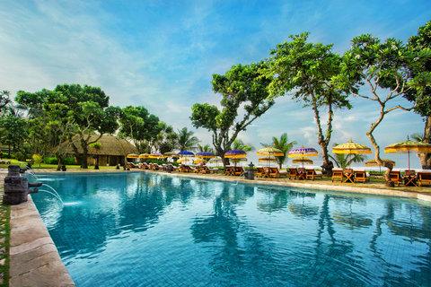 The Oberoi, Bali - Pool view