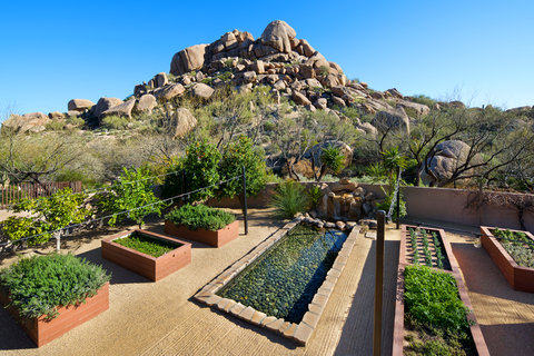 Boulders Resort & Golden Door Spa - Organic Garden