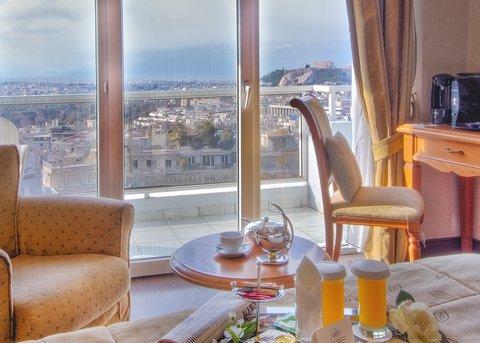 St George Lycabettus Hotel - AcropolisViewRoom