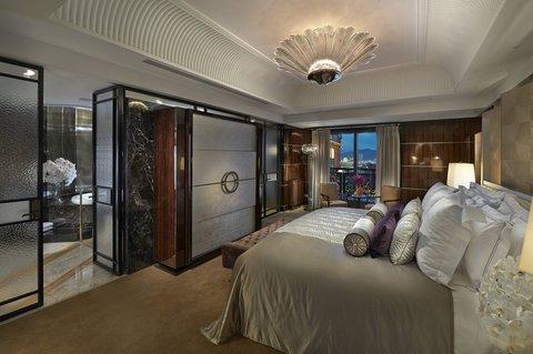 台北文华东方酒店 - MOTPEMandarin Suite Bedroom