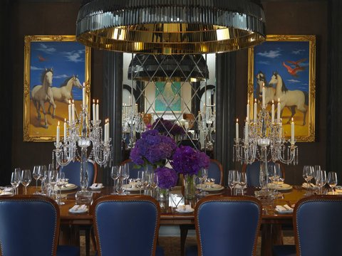 台北文华东方酒店 - MOTPEPresidential Suite Dining Room