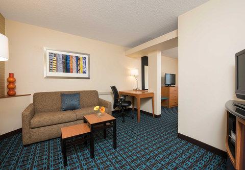 Fairfield Inn Bloomington - King Suite