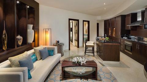 Kempinski Burj Rafal Hotel - Rafal Suite Kitchen