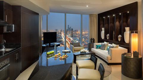Kempinski Burj Rafal Hotel - Rafal Suite Lounge