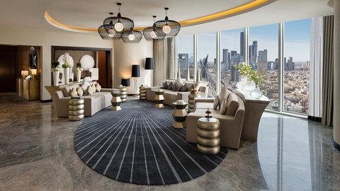 Kempinski Burj Rafal Hotel - Royal Suite Lounge