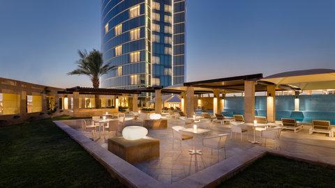 Kempinski Burj Rafal Hotel - Skylight