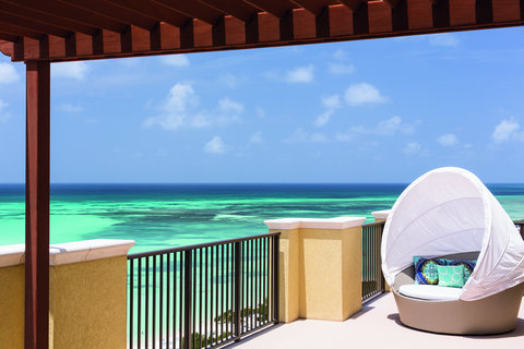 The Ritz-Carlton, Aruba - RC Suite Balcony With Daybed