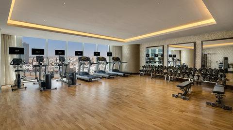 Kempinski Burj Rafal Hotel - SPAMale Gym